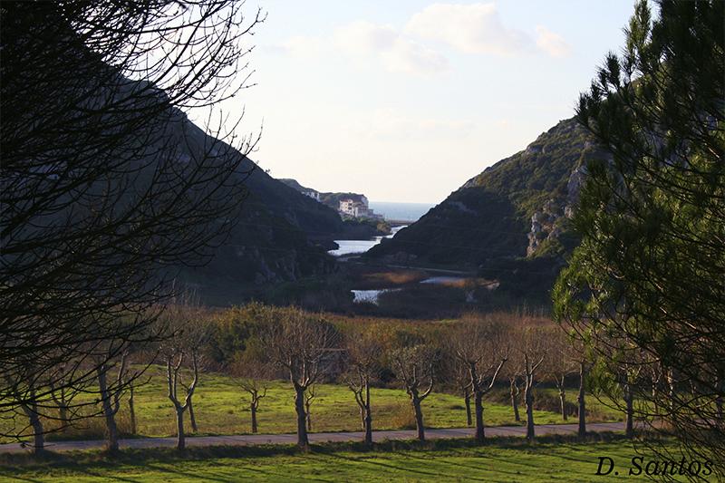 Vale na Maceira, Rio Alcabrichel e Porto Novo