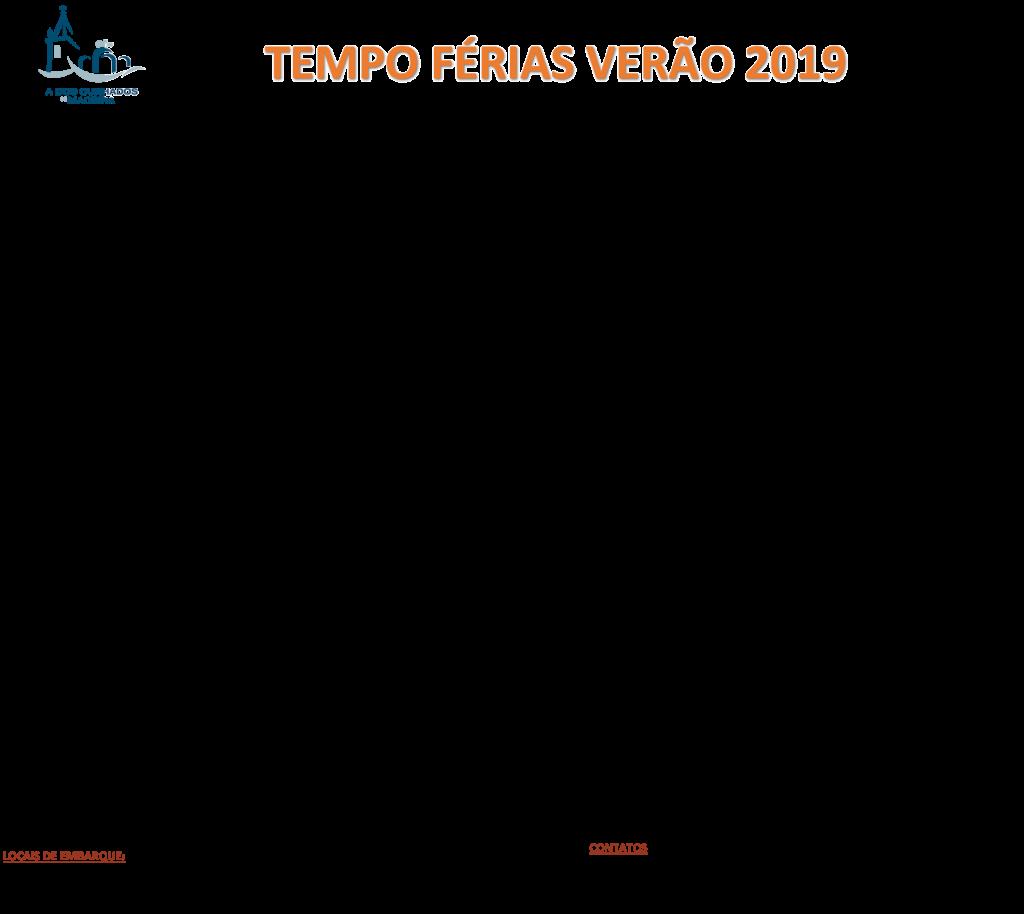 Tempo de Ferias 2019
