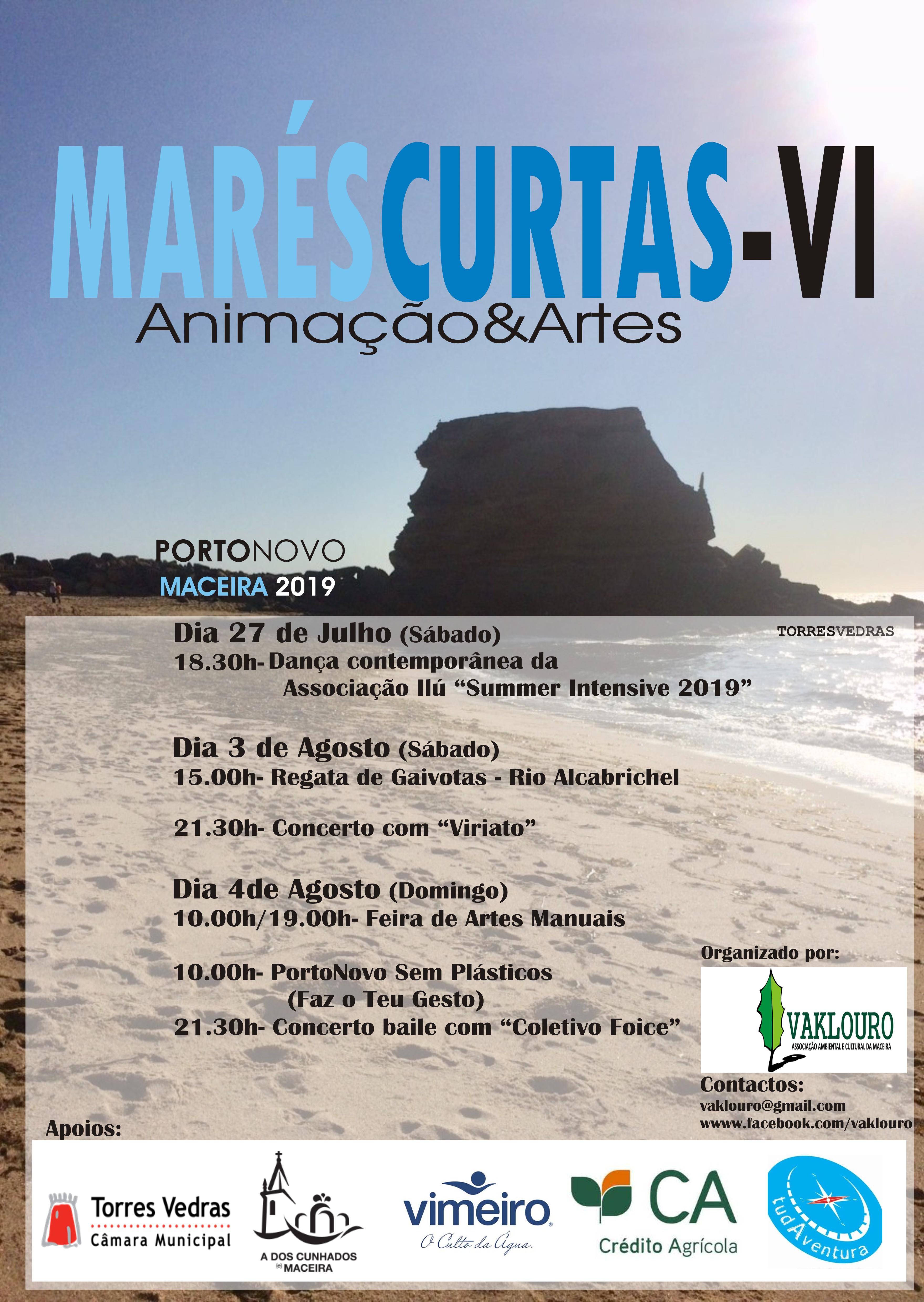 mares curtas 2019
